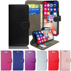Case Cover For Apple iPhone XR X XS MAX 5 6 7 8 Leather Flip Wallet Book Phones
