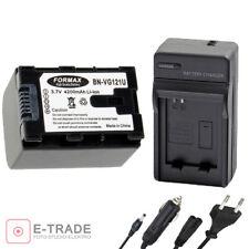 Battery BN-VG121 + CHARGER / for JVC BNVG121AC BNVG121E BNVG121U BNVG114E