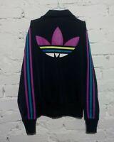 Adidas Originals Women's Track Top Jacket Big Logo Tracksuits SMALL UK 14