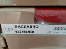 ) New IKEA cover set for Backabro 2 seat sofa