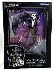 Disney Vampire Jack Skellington & Winged Demon Nightmare Before Christmas New