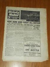 MELODY MAKER 1945 #639 OCT 20 JAZZ SWING JACK PAYNE LESLIE HUTCHINSON BILLY MONK
