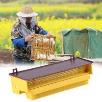Removibile Giallo Apicoltura Trappola Per Polline con Vassoio Polline Ventilato