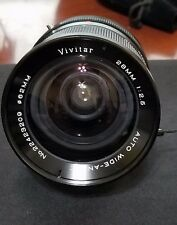 Vivitar 28mm f/2.5 Auto Wide-Angle Lens for Konica AR VIVITAR metal & Kino Caps