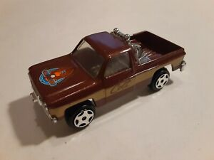Vintage ERTL Fall Guy GMC Colt Pickup Truck 1/64 Scale Die Cast Lee Majors 4x4