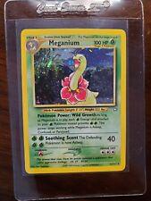 Meganium 11/111 Neo Genesis Holo Foil WOTC Pokemon Card TCG *NM*