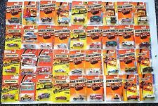 Vintage  Lot Of 36 MATCHBOX Die Cast Cars, Trucks etc.. NEW In Package 1993/2010