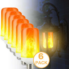 LED Flame Effect Simulated Nature Fire Light Bulbs E27 for Hotel Bar Home Party