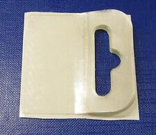 1000 Self Adhesive Euro Slot Flexi Hang Tabs IN BOOKLETS 50X50 Hanging Tab Hook