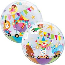 "22"" BUBBLE BALLOON CIRCUS PARADE PARTY DECORATION - STRETCHY BIRTHDAY PARTY"