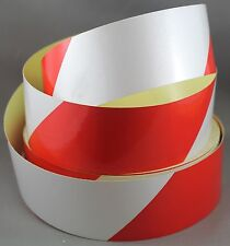 Red/White Class 2 Reflective Tape 50mm x 10m