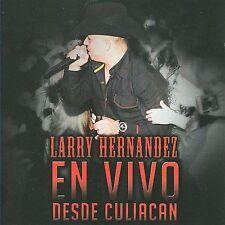 FREE US SH (int'l sh=$0-$3) NEW CD Larry Hernandez: En Vivo Desde Culiacan (W/Dv