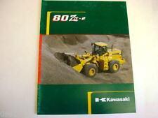 Kawasaki 80 Ziv-2 Wheel Loader Literature