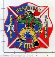 Texas - Pasadena Station 10 TX Fire Dept Patch Alligator