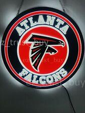 "New Atlanta Falcons Led 3D Neon Sign 17"" Bar Lamp Decor Poster"