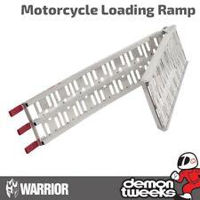 1 x Warrior Premium Aluminium Motorcycle / Bike / Motorbike / MX Loading Ramp
