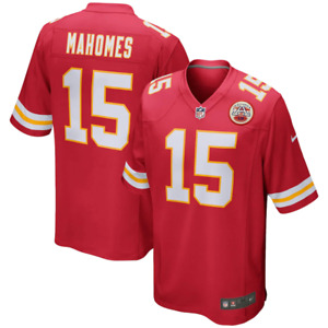 Kansas City Chiefs Jersey NFL Mens Nike Home Jersey - Mahomes 15 - New