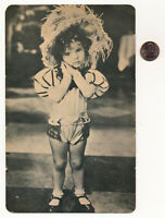 1949 SHIRLEY TEMPLE Large Poster Card #208 Trilby Posters Postcard Movie Card