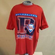 Philadelphia Phillies 1997 MLB Baseball Logo 7 Mens T-Shirt Red Vintage XXL