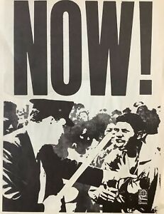 Poster. Now!, 1965. Poster by OSPAAL. Measures: 12 ½ x 17 inches. Dual Print.