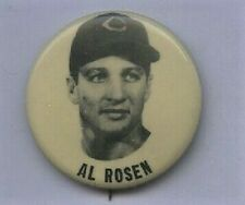 PM 10 PIN 1950s Al Rosen Cleveland Indians EX+