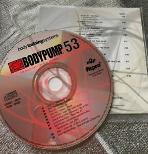 Les Mills Body Pump 53 CD only