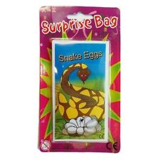 Caja de 120 X Bolsa Sorpresa Huevos De Serpiente Broma Broma Oficina Bolsa Fiesta Juguete Relleno