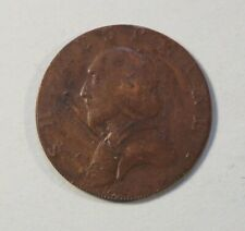 1792 Shakespeare 1/2 Penny Ireland Token Halfpenny UK Irish Harp