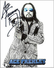 Ace Frehley #3  8 x 10 Autograph Reprint  KISS  Frehley's Comet  Wicked Lester