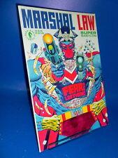 tomo comic MARSHAL LAW comic en ingles