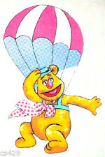 """16"""" MUPPETS FOZZIE FOZZY BEAR  BALLOON CHARACTER WALL SAFE FABRIC DECAL CUT OUT"""