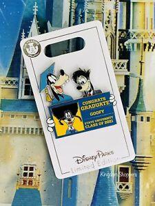 2021 Disney Graduation Day Congrats Goofy & Max Pin LE 4000 New Class Of 2021