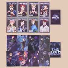 K-POP Star EXO 4th Album The War Photo Card Set Regular A Poster Postcards