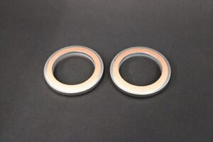 Yamaha RD350LC Exhaust Gaskets x2 Copper & Steel  - All Years