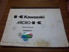 1995 KAWASAKI MOTORCYCLE KDX200-H1 PARTS MANUAL~KDX200~ENGINE~CHASSIS~ILLUSTRATE