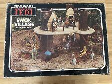 Kenner Star Wars EWOK VILLAGE Action Playset  1984