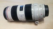 Canon 70-200mm f2.8L IS USM telephoto zoom lens