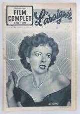 FILM COMPLET N° 253 L'ARAIGNEE Ida LUPINO Howard DUFF Peggy DOW Roger NICOLAS