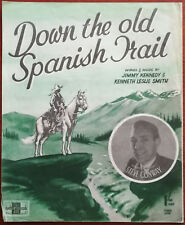 Steve Conway Down The Old Spanish Trail – Pub. 1947