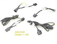 AUDI A3 8V pre-facelift LED taillights adapter cable set from HALOGEN TO LED