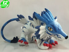"FAST SHIPPING Garurumon 12"" 30cm Digimon Adventure Figure Soft Plush Toy Doll"