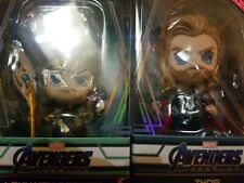Hot Toys Marvel Avengers Endgame Cosbaby THOR  AND LOKI THE AVENGERS VERSION