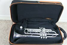 New Wisemann DTR-800SP Silver Trumpet Stradivarius Clone   Schilke Style Trim
