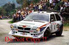 Henri Toivonen Martini Lancia Delta S4 Tour De Corse Rally 1986 Photograph 1