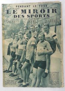 Vintage Sports/Cycling Collectable - 'Les Miroir Des Sports'  French Publication