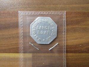 Maidstone CO-OP Society - Large Loaf - vintage token