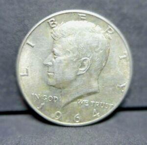 US  1964  D  Silver Half Dollar     👀