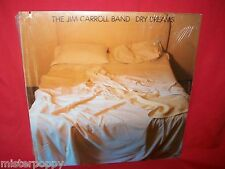 THE JIM CARROLL BAND I Dry dreams LP 1982 USA MINT- + Original Inner