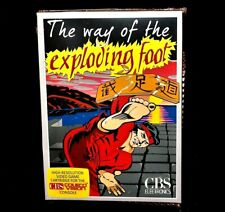 Colecovision homebrew WAY OF THE EXPLODING FOOT game NEW/MIB unopened cartridge