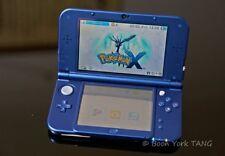 Nintendo 3DS XL azul nuevo paquete de edición, con 2 Juegos, cargador oficial, y Caja!!